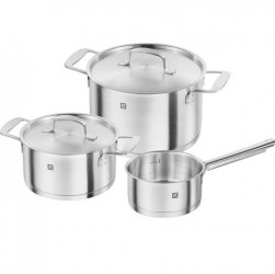Bộ nồi ZWILLING Base Cookware - 3 pcs (induction) 3 layers